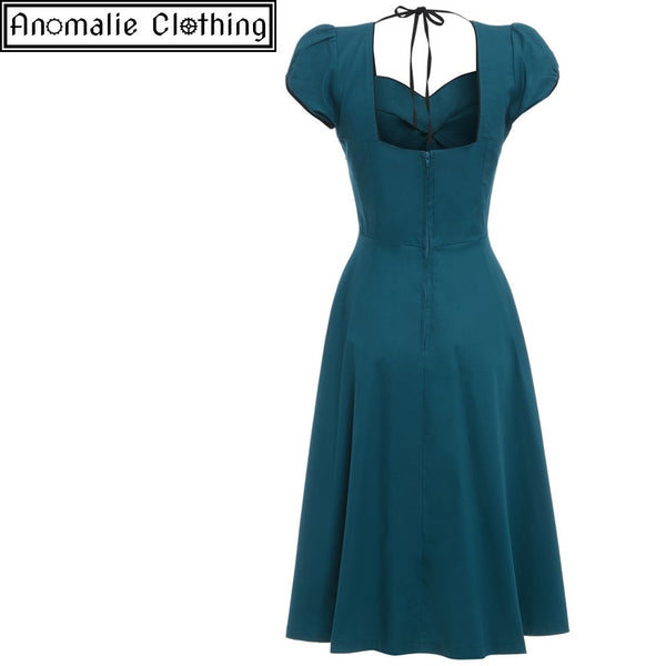 Bella Swing Dress in Teal