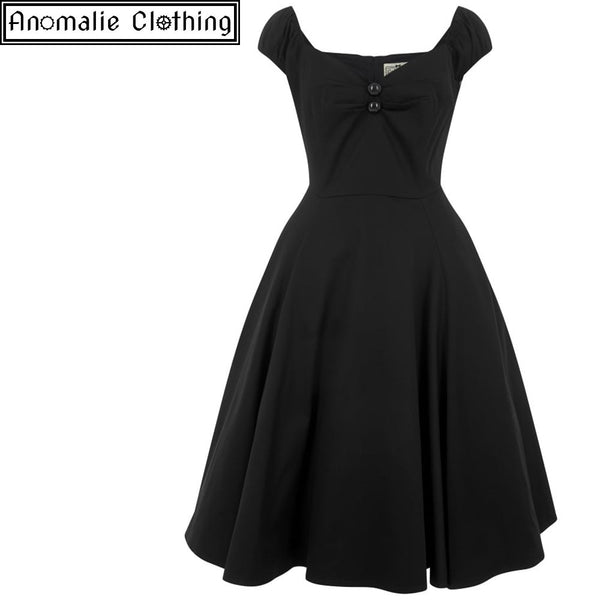 Dolores Doll Dress in Black