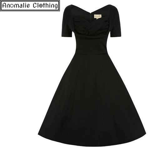 Sloane Swing Dress in Black