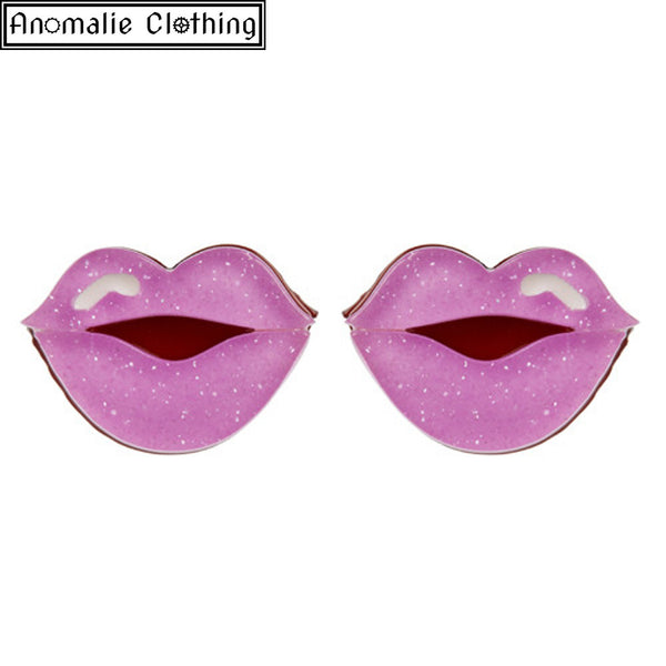 Pink Kiss and Tell Earrings