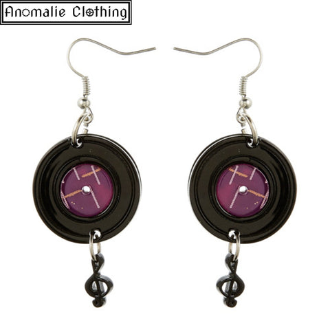 Record Drop Earrings - Sold Out!