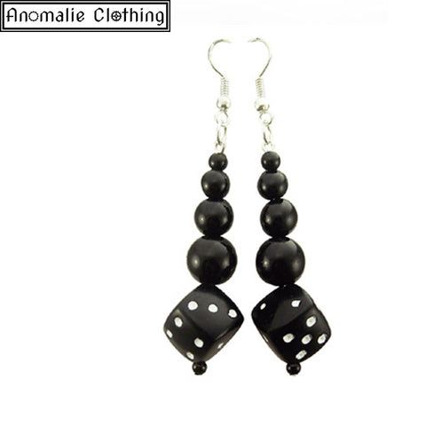 Hellcat Dice Earrings