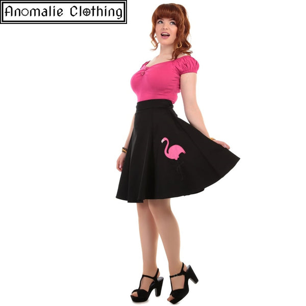 Tammy Flamingo Skirt