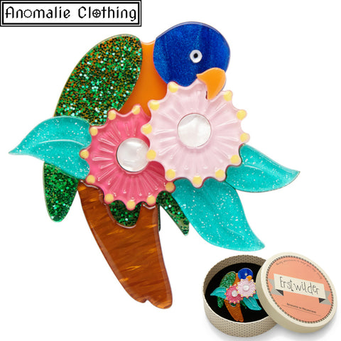 Naughty Nectar Nibbler Brooch - Discontinued