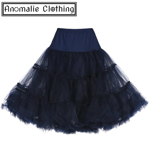 Navy Blue Children's Petticoat