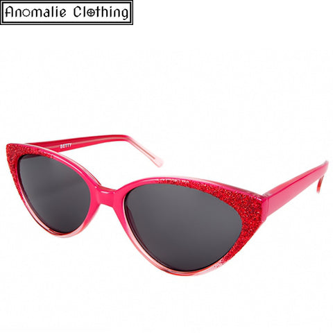 Betty Catseye Sunglasses in Pink