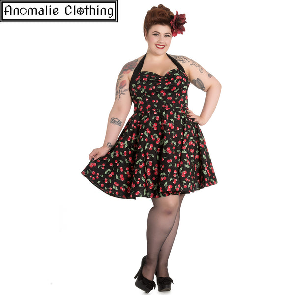 Cherry Pop Mini Dress - One Size S Left!
