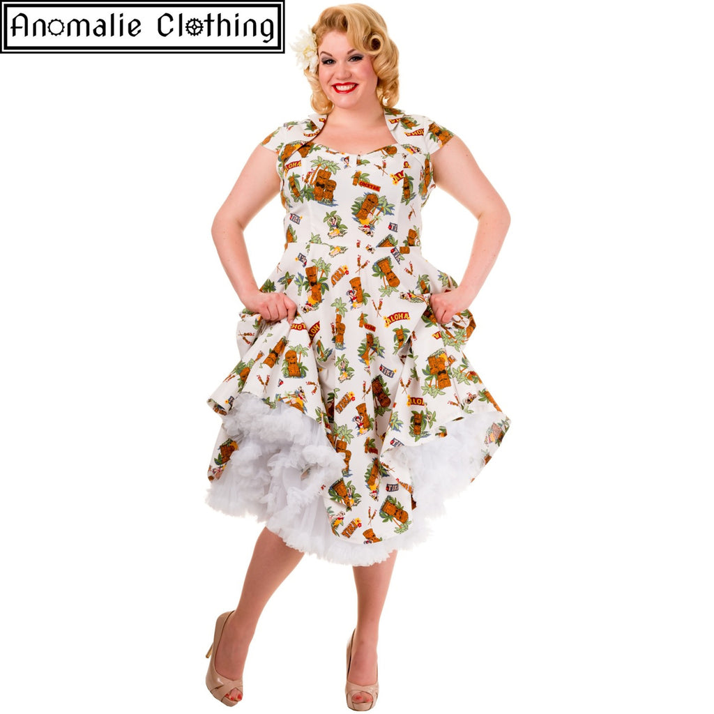 6170a1f60fc Tiki Dreamer Dress by Banned Apparel at Anomalie Clothing