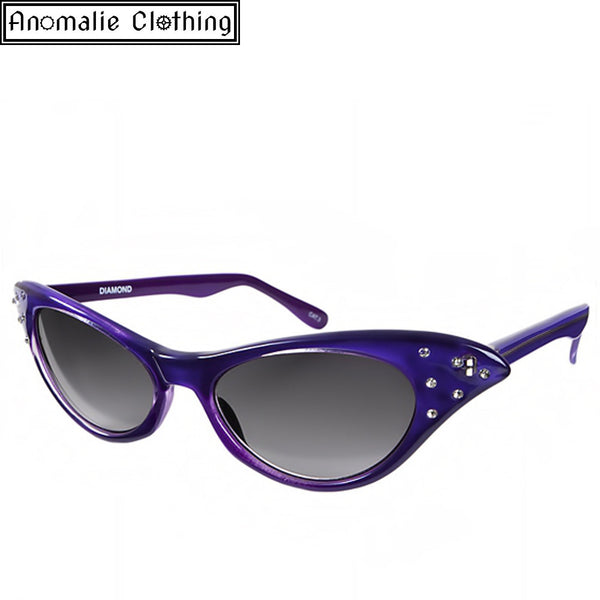 Diamond Catseye Sunglasses