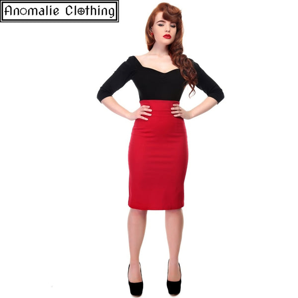 Fiona Skirt in Red