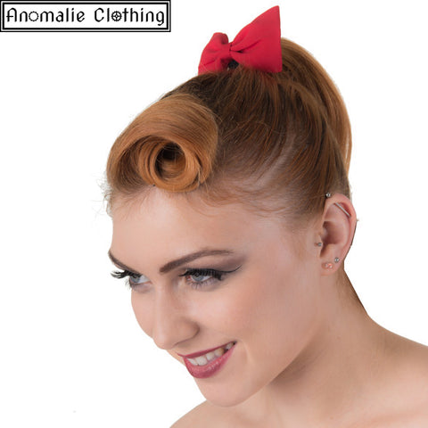 Lovestruck Hairband with Red Bow