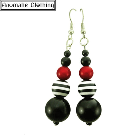 Red Pirate Earrings