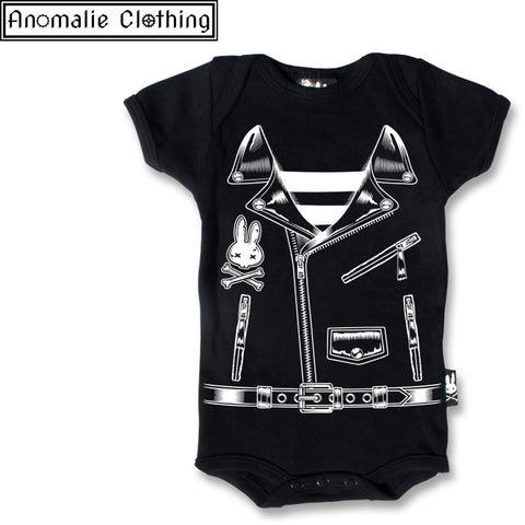 Rocker Jacket Baby Romper