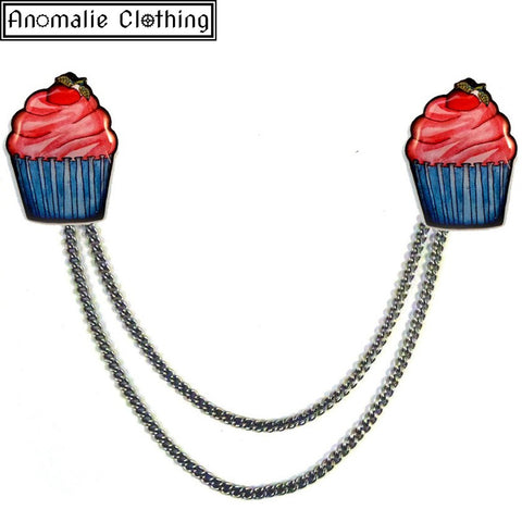 Cupcake Cardigan Clips - Discontinued