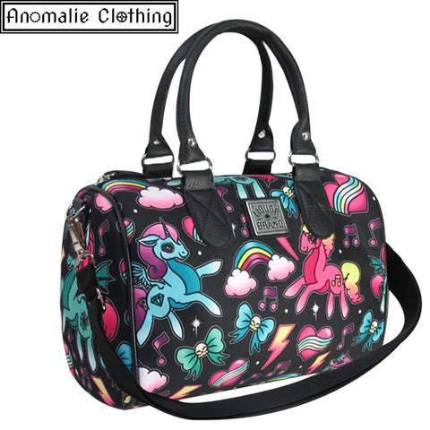 Unicorns Round Bag