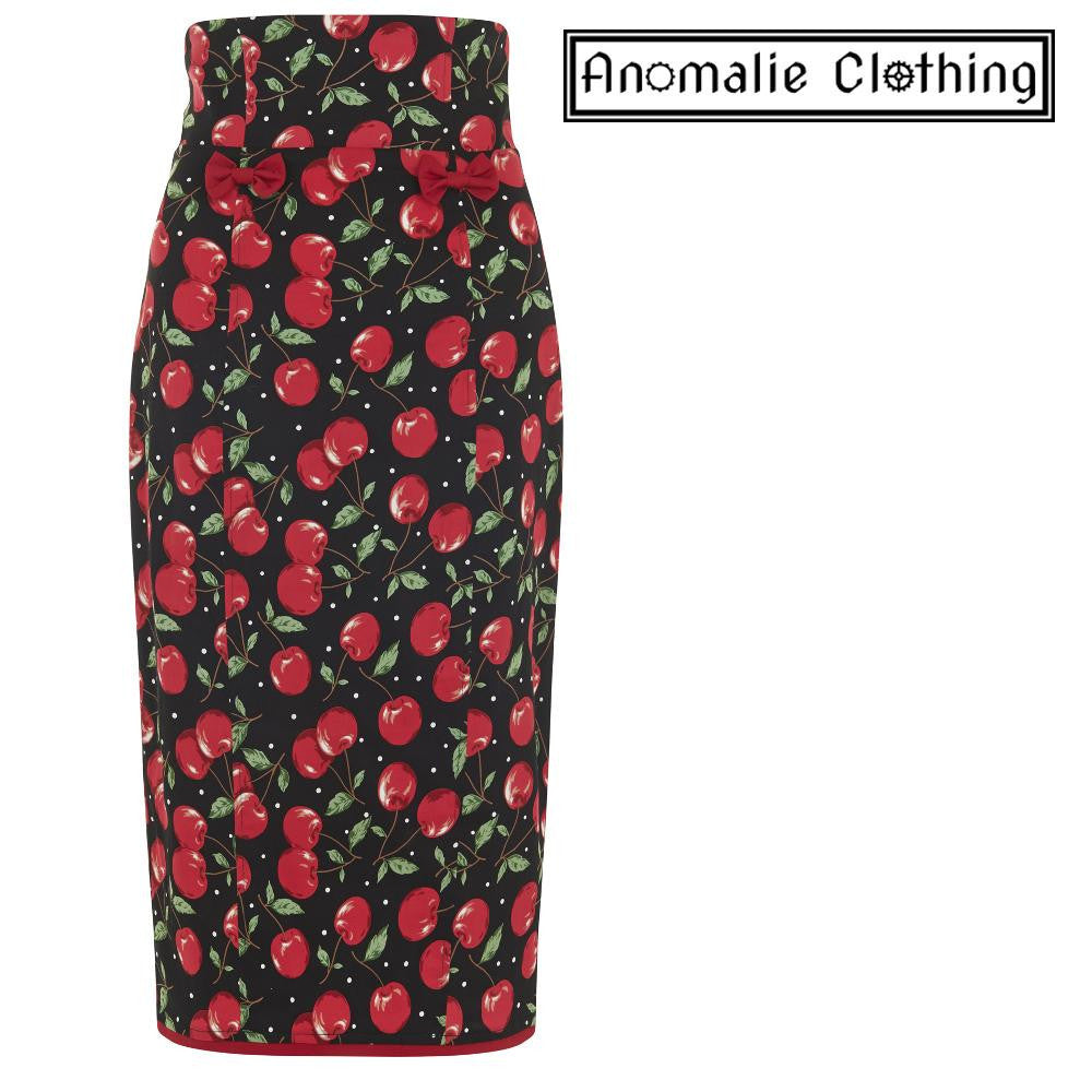 Cherry Print Vanya Skirt - Discontinued