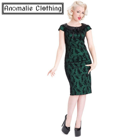Green Lucille Dress