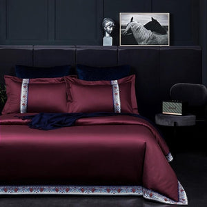 Dotera Egyptian Cotton Patchwork Duvet Set