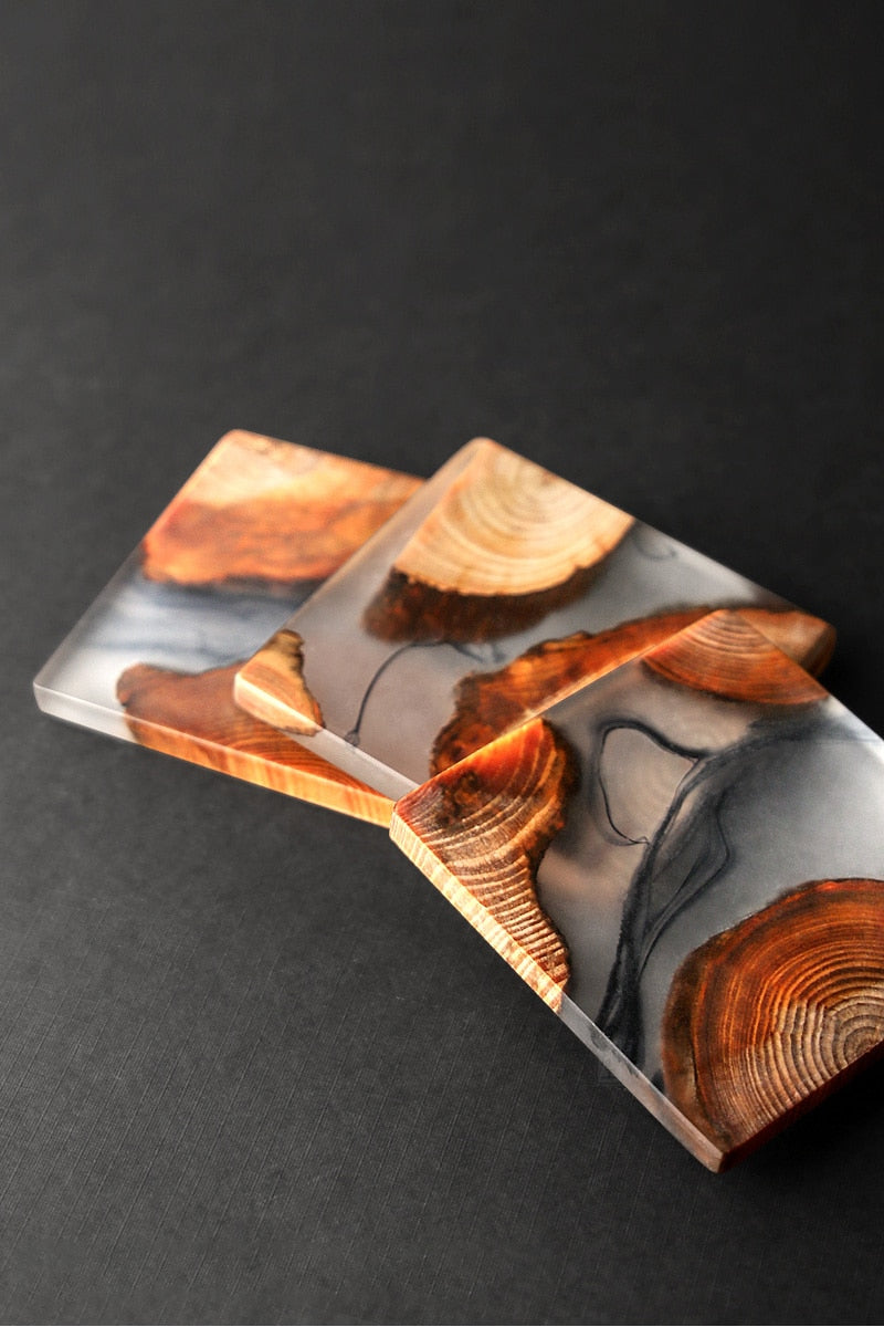 Japanese Wooden Resin Mat