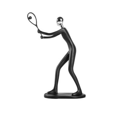 Sports Abstract Figurines