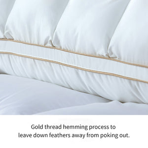Goose Down and Feather Pillow