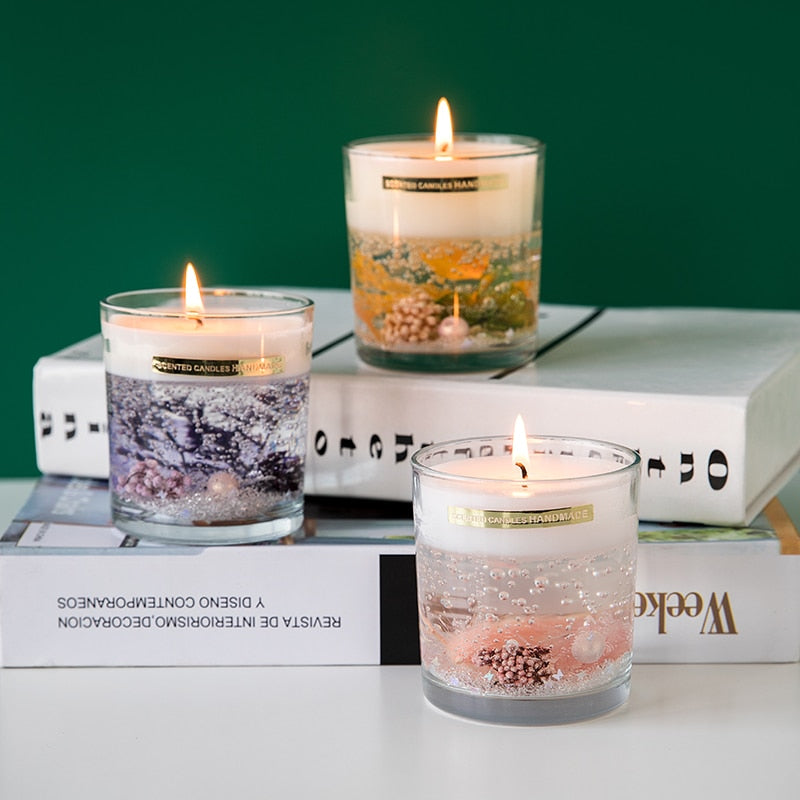 Eternal Life Flower Scented Candles