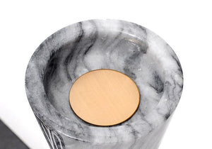 Minimalist Marble Candle Holder