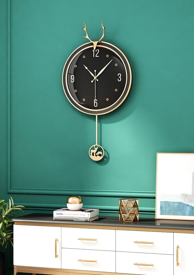Quincy Pendulum Wall Clock