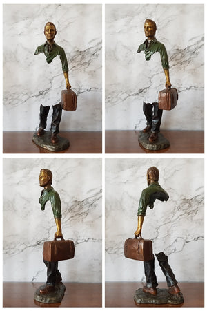 """The Traveller"" by Bruno Catalano"