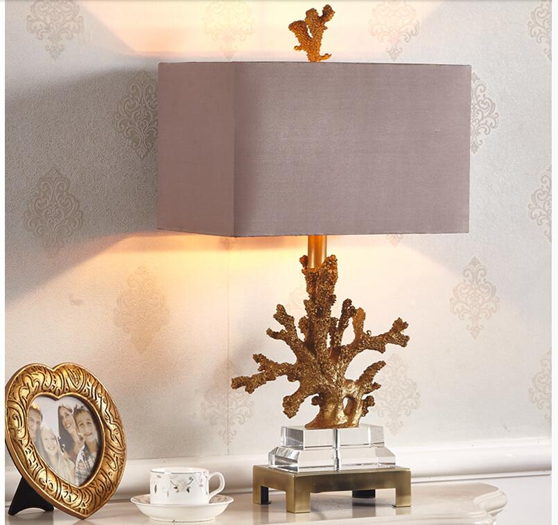 Coral Table Lamp