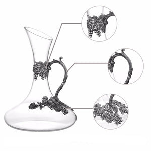 Hand Blown Crystal Glassware & Decanter
