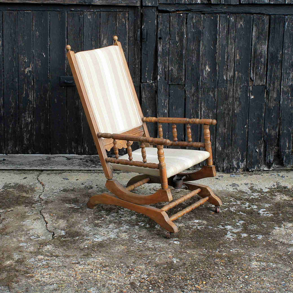 American Colonial Style Rocking Chair-Origin Antiques
