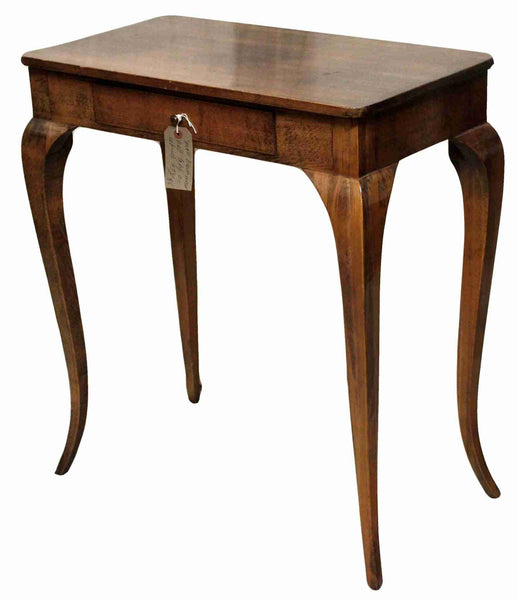 Antique Beechwood Console Hall Table-Origin Antiques