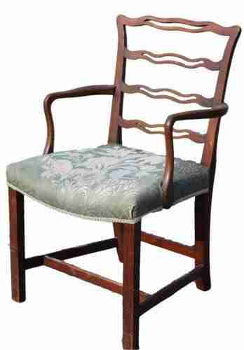 Antique Mahogany Armchair-Origin Antiques