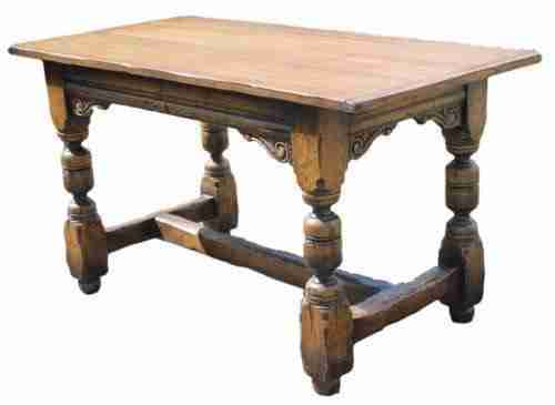 Antique Oak Dining Table-Origin Antiques