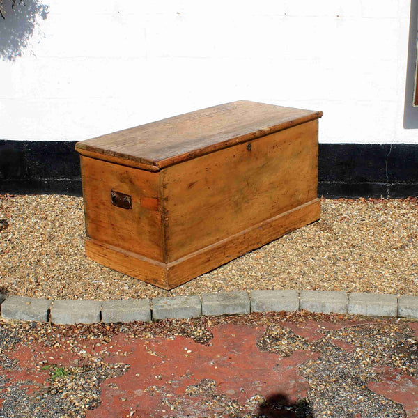 Antique Pine Blanket Box-Origin Antiques