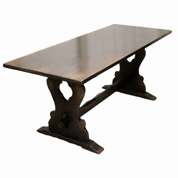 Antique Style Refectory Dining Table-Origin Antiques