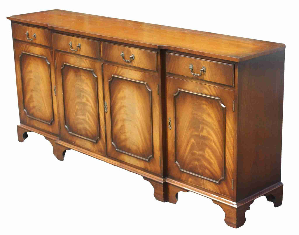 Bevan & Funnel 'Reprodux' Breakfront Sideboard-Origin Antiques