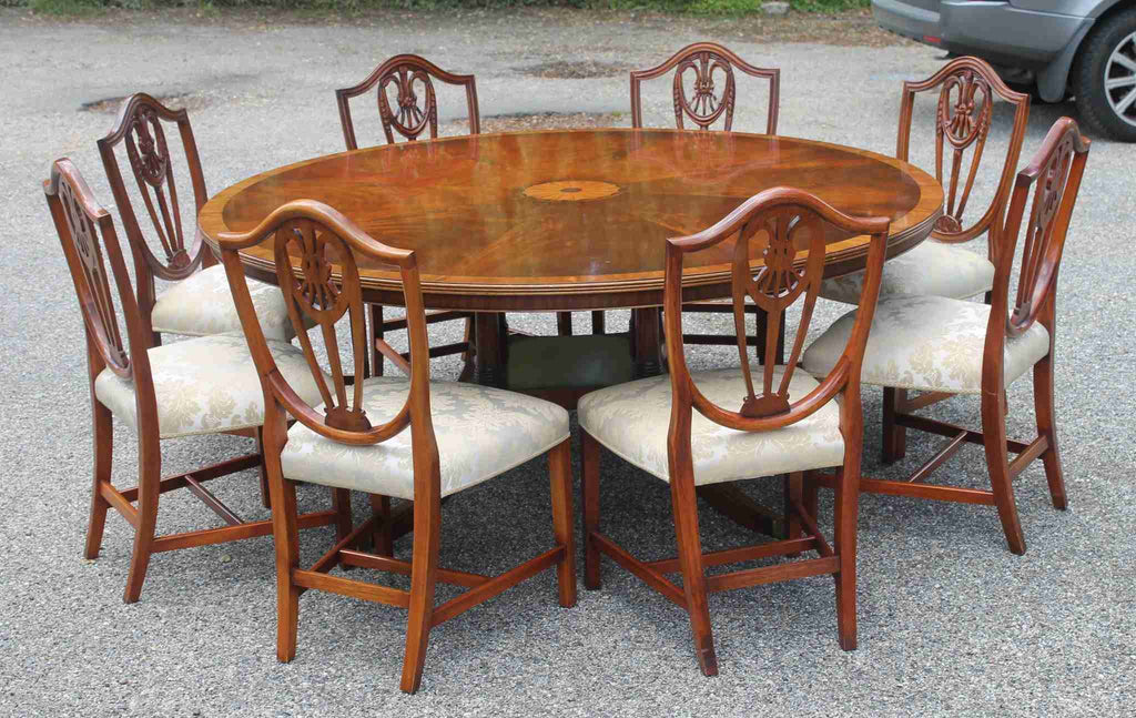 Bevan & Funnell 'Reprodux' 6 Foot Round Dining Table-Origin Antiques
