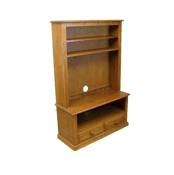 Contemporary Oak TV Stand-Origin Antiques