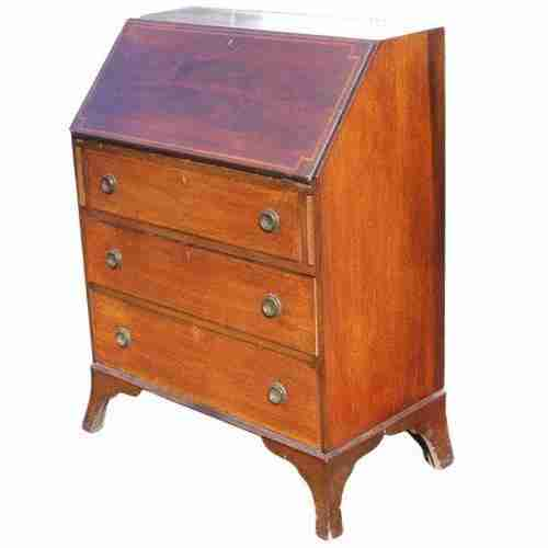 Edwardian Antique Bureau-Origin Antiques
