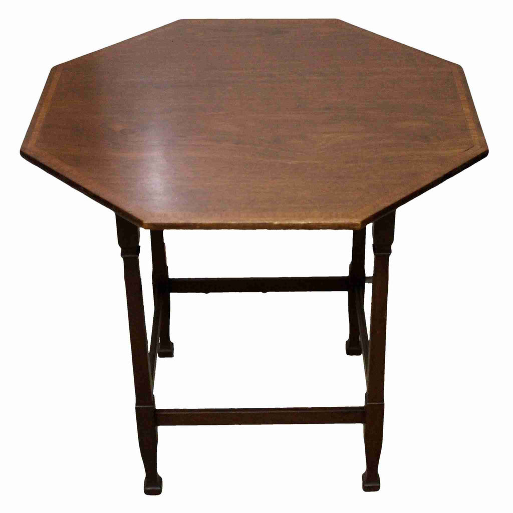 Edwardian Antique Mahogany Occasional Table-Origin Antiques