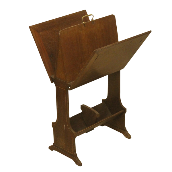 Edwardian Antique Mahogany Rack Stand-Origin Antiques