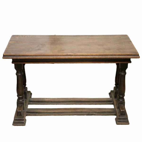 Edwardian Antique Oak Dining Table-Origin Antiques