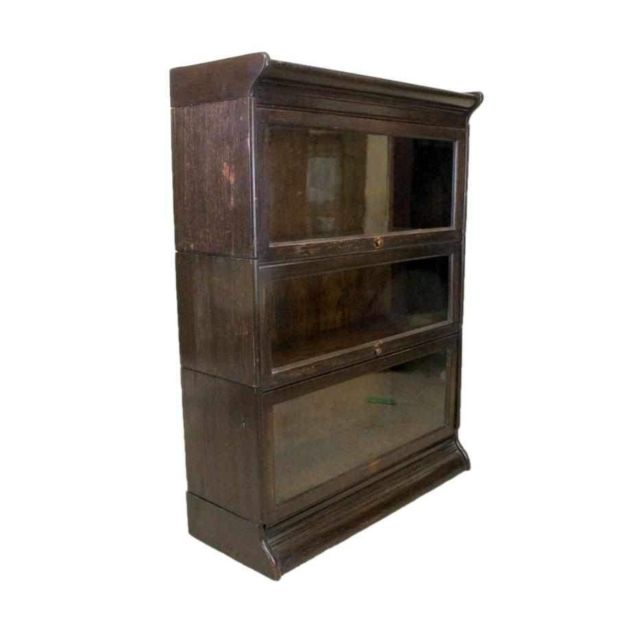 Globe Wernicke Style Modular Glazed Display Bookcase-Origin Antiques