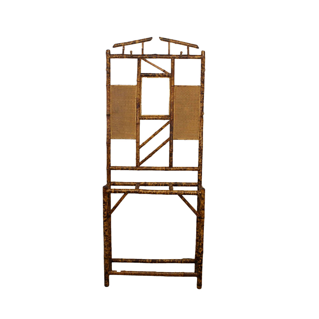 Oriental Bamboo Hall Stand-Origin Antiques