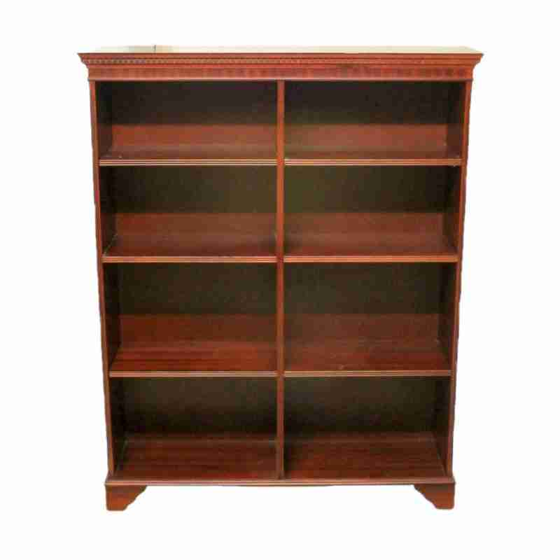 Reproduction Antique Style Mahogany Bookshelf-Origin Antiques