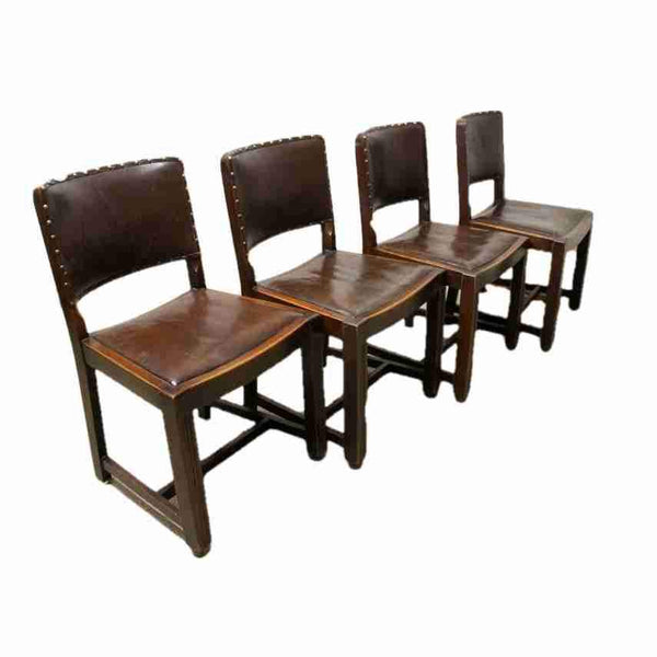 Set of Four Vintage Style Dining Chairs-Origin Antiques