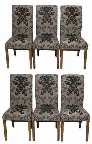 Set of Six Contemporary Dining Chairs-Origin Antiques