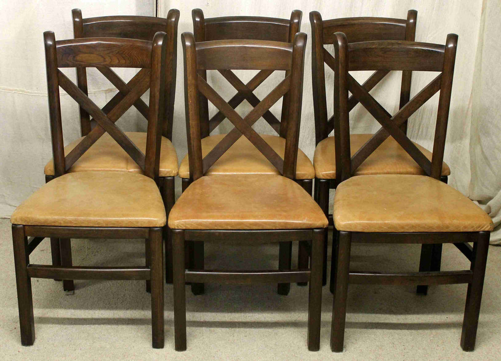 Set of Six Willis and Gambier Dining Chairs-Origin Antiques